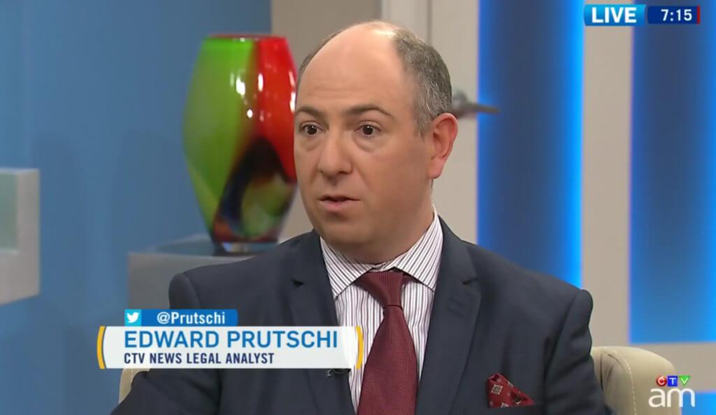 Edward Prutschi CTV News Legal Analyst